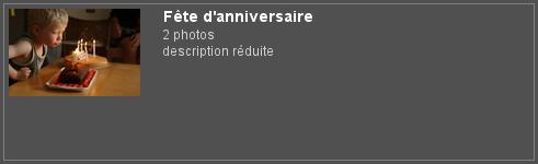 """Piwigo et plugin Extended Description, balise """"more"""" : affichage de la description réduite d'un album sur la page des albums"""