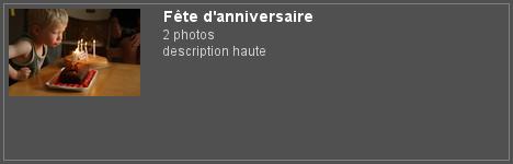 """Piwigo et plugin Extended Description, balise """"up-down"""" : affichage de la description haute d'un album sur la page des albums"""