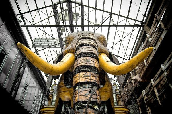 L'éléphant des Machines de l'île, photo par Frédéric Augris